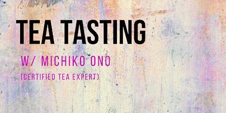 Tea Tasting with Michiko Ono tickets