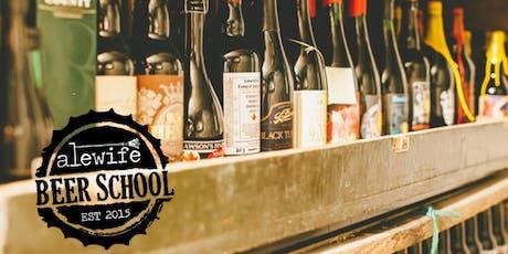 Beer School: Cellaring & Aging Beer tickets