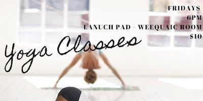Yoga at LAUNCHPAD