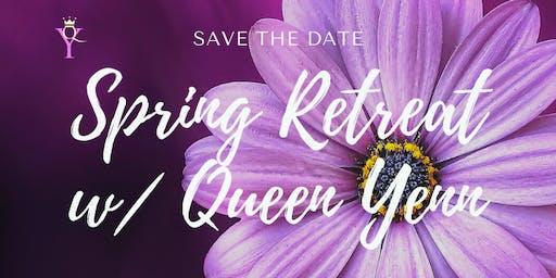 Spring Retreat w/ Queen Yenn in the Beautiful Blue Ridge Mountains