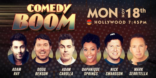 Nick Swarsdon, Adam Carolla, Doug Benson, and more - Comedy Boom