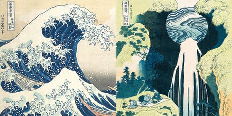 Social Painting/Paint & Sip - Hokusai's Wave & Waterfall tickets