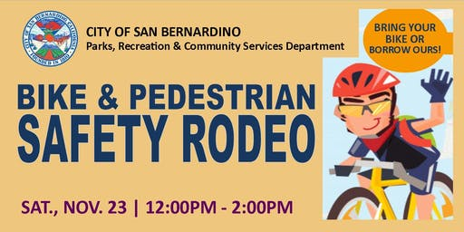 BIKE & PEDESTRIAN SAFETY RODEO