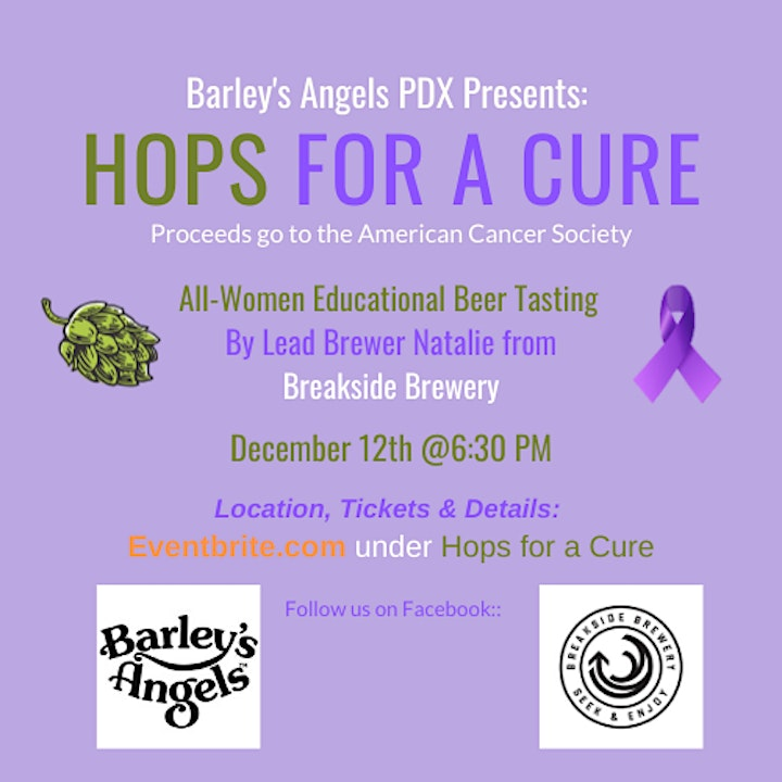 Hops for a Cure: Barley's Angels PDX image