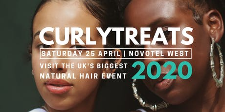 CURLYTREATS 2020 - Natural Afro Hair Show,  April 25 tickets