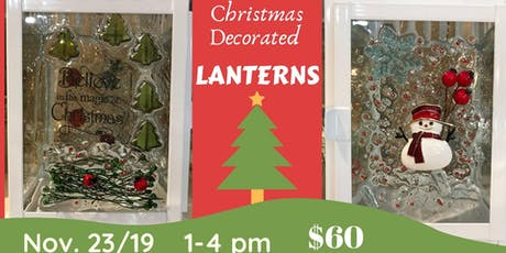 Christmas Decorated Lanterns tickets