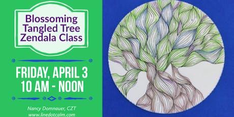 Blossoming Tangled Tree Zendala® Class tickets