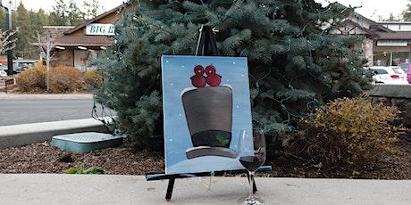 Caridnal Christmas Paint & Sip tickets
