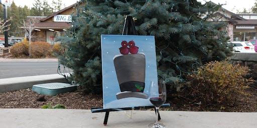Caridnal Christmas Paint & Sip