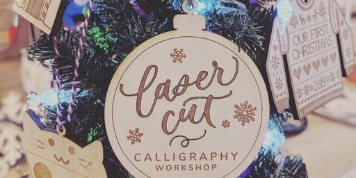 Laser Cut Calligraphy: Make Your Own Laser Cut Ornament!