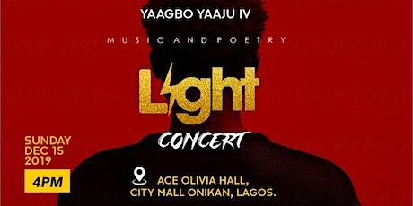 Yaagbo Yaaju IV: The Light Concert tickets