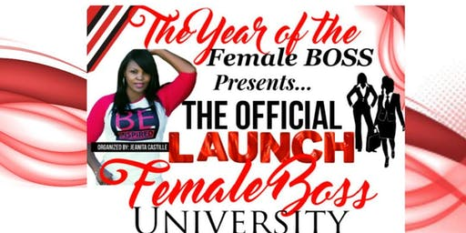 FEMALE BOSS UNIVERSITY LAUNCH