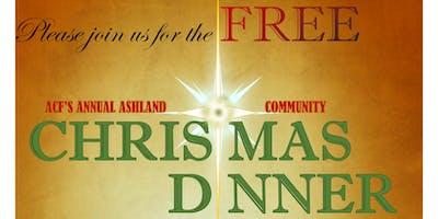 FREE!  Ashland, OR Community Christmas Dinner