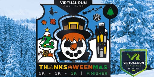 2019 - Thanks-Oween-Mas Virtual 5k Challenge - Louisville
