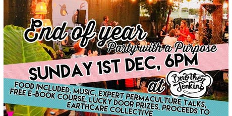 End of Year party with a purpose tickets