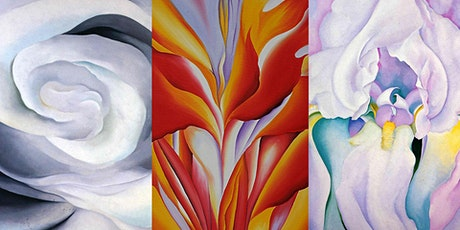 Paint & Sip with Oils: Flowers with Georgia O'Keeffe tickets