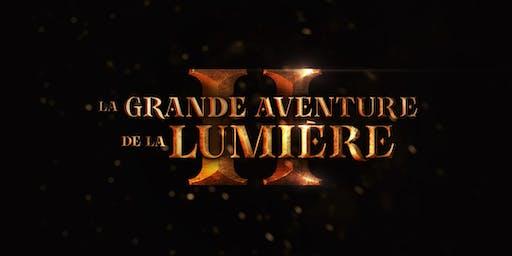 LA GRANDE AVENTURE DE LA LUMIÈRE 2 • Dimanche • 16h • Spectacle de Noël
