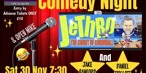 Comedy night with Jethro