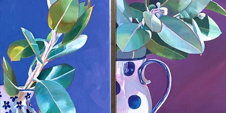 Paint & Sip with Oils: Plants with Wanda tickets