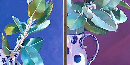 Paint & Sip with Oils: Plants with Wanda