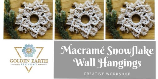 Macramé Snowflake Workshop