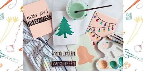 Christmas Card Paint & Sip tickets