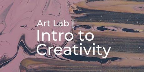 Art Lab | Intro to Creativity Workshop tickets