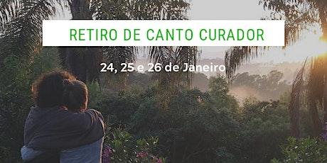 Retiro de Canto Curador - 24 a 26 de Janeiro ingressos