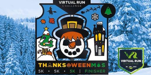 2019 - Thanks-Oween-Mas Virtual 5k Challenge - Anaheim