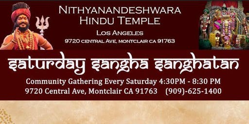 Saturday Sangha Sanghatan:  Spiritual Community Gathering Every Saturday