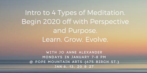 Intro to Meditation 2020