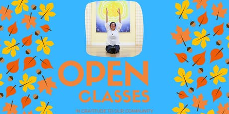 OPEN CLASS - Stretch Breathe Meditate tickets