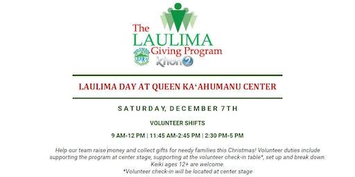 Shift 1 @ Queen Kaahumanu Center (Laulima Day)