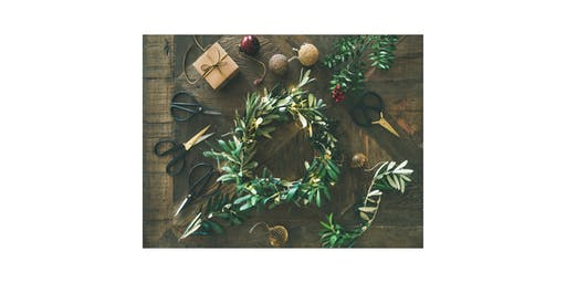 Holiday Wreath Making at Isbill Floral Gallery