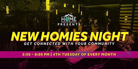 New Homies Night tickets