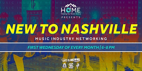 New to Nashville Music Industry Networking tickets