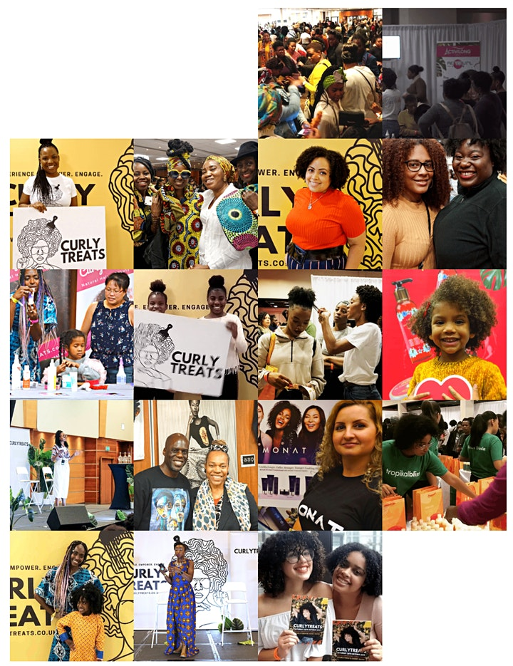 2021 CURLYTREATS  Natural Hair Festival image
