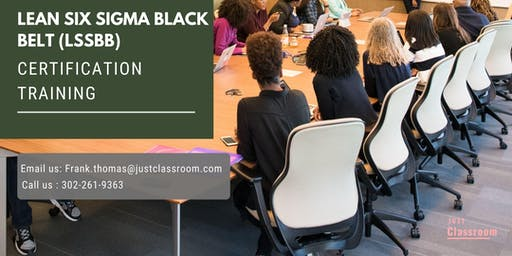 Lean Six Sigma Black Belt (LSSBB) Certification Training in Val-d'Or, PE