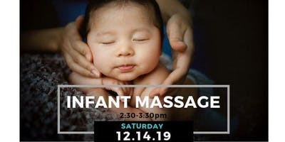 FREE Infant Massage Workshop!