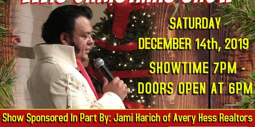 SOLD OUT Randoll Rivers - Elvis Christmas Show