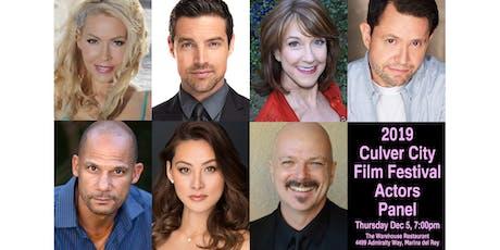 2019 Culver City Film Festival Actors Panel tickets