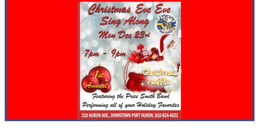 Christmas Eve Eve Sing Along with Price Smith and Guests