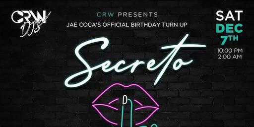Secreto (Reggaeton & Hip Hop at The Valencia Room)
