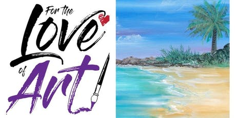 Paint and Sip Class: Folly Beach (By Request!) tickets