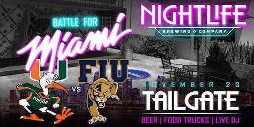Battle for Miami Tailgate