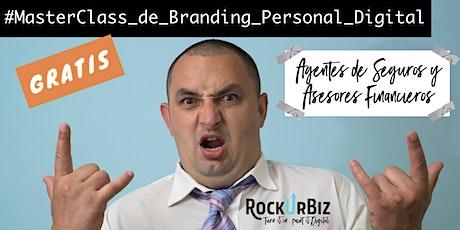 Branding Personal Digital para Agentes de Seguros y Asesores Financieros entradas