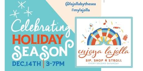 Enjoya La Jolla- Celebrates the Season! tickets