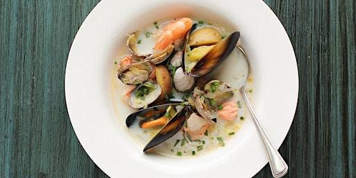 Basics' Seafood Chowder