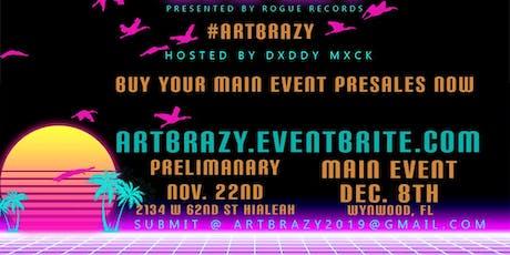 Art Brazy tickets