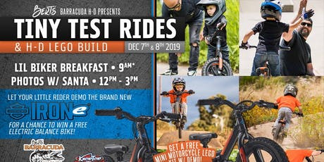 Bert's Tiny Test Rides & Lego Build at BBH-D tickets